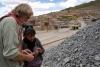 54 Onze rondleidster Marlene vertelt over deze zilvermijn, het gesteente en haar leven rondom de mijn, haar man verongelukte in deze mijn