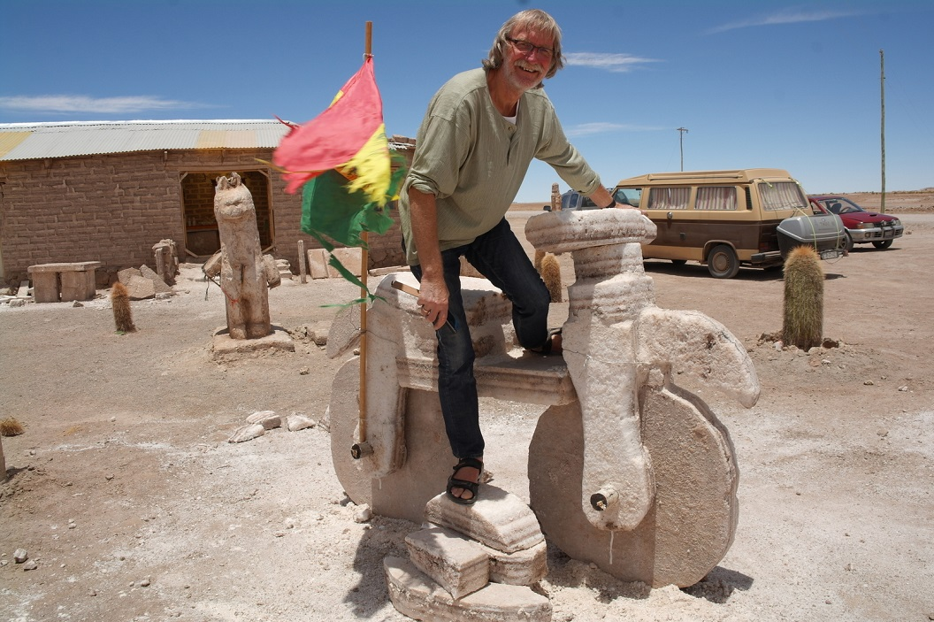 21 prima ritje..., zoutsculptuur