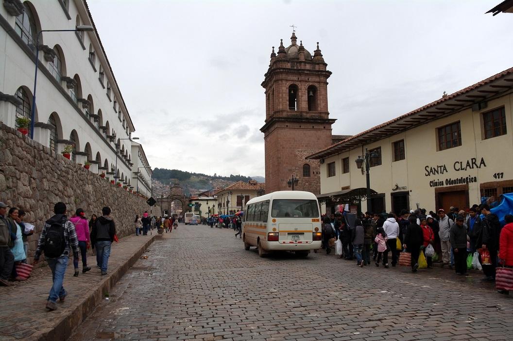 04 historisch centrum, in het midden de toren van de Kathedraal