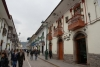 05 historisch centrum, gevels in koloniale stijl met hun sierlijke balkonnetjes