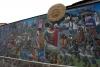 07 muurschildering in Cusco met de beeltenis van de opkomst en ondergang van de Inca's
