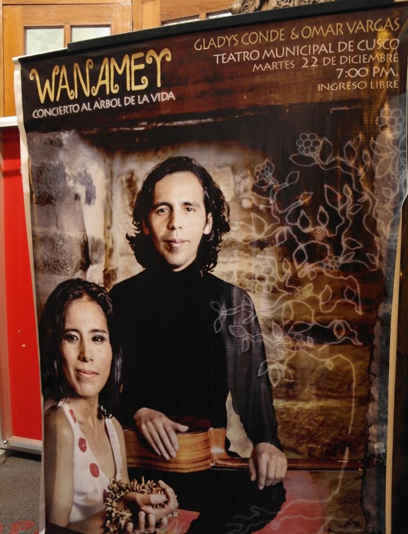 24 poster van de voorstelling waar we van hebben genoten! Wanamey -Concierto al Arbol de La Vida - Concert Tree of Life
