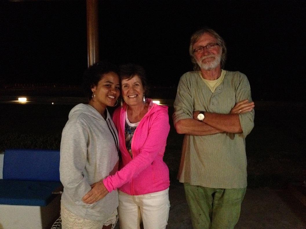 30 Gerry en haar dochter Tess, een hartelijke ontvangst en leuk elkaar weer te zien na zoveel jaren