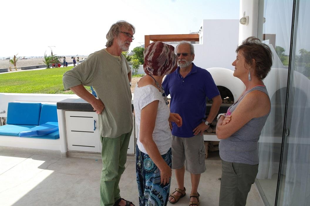 31 samen met Gerry en haar echtgenoot Mario veel te verhalen, zij wonen en werken al ruim 25 jaar in Lima