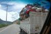 01 beladen op weg vanaf Urumbamba richting Abancay