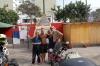 66 Samen met Anita (Malaysia), een enthousiaste motor rijder (Canadees) die zijn reis door Zuid America maakt met speciale missie The Long Ride for Dad