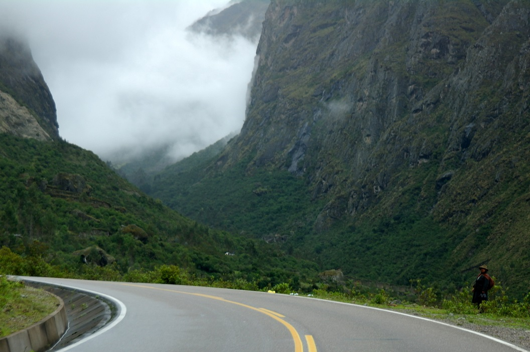 23 route door de Andes op weg naar Machu Pichhu