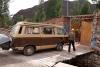 07 aankomst bij Niños Del Sol Children's Home - kinderen van de zon - . Hartelijk ontvangst door Avishai en Avri (zie Ninos del sol.org (Peru) )