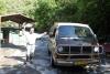 37 we parkeren op de parkeerplaats van signor Wilfredo bij Hidroelectrica, overnachten er, morgen verder per trein naar Machu Picchu