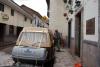 02 in overleg met receptiemedewerker van Hostel MALLQUI mogen we er enkele dagen parkeren en slapen in ons busje, met tegen betaling gebruik van sanitair en internet