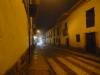 27 op kerstavond wordt er in de straatjes van Cusco regelmatig vuurwerk afgestoken