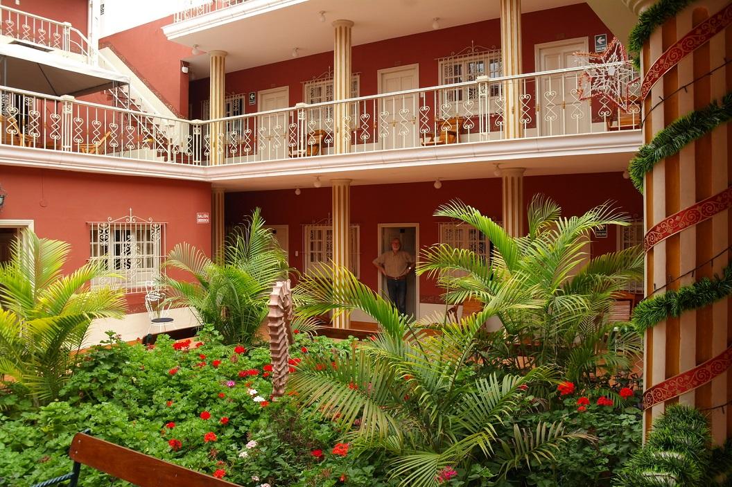 07 hotel Colonial met een prachtige binnentuin