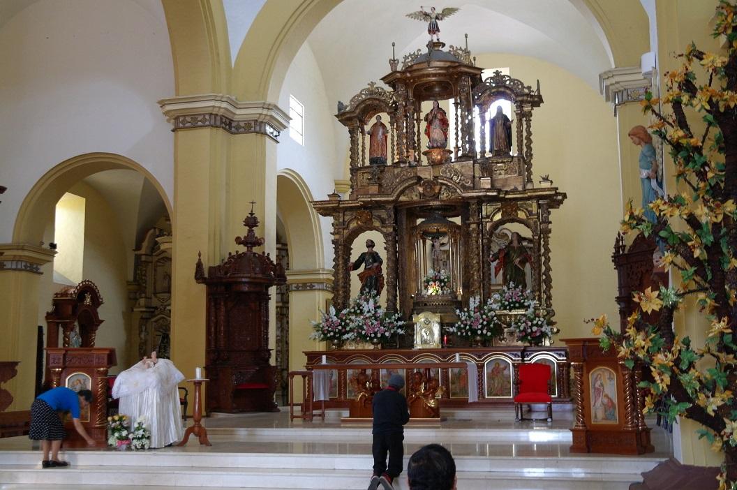 09 binnen de Cathedral van Trujillo