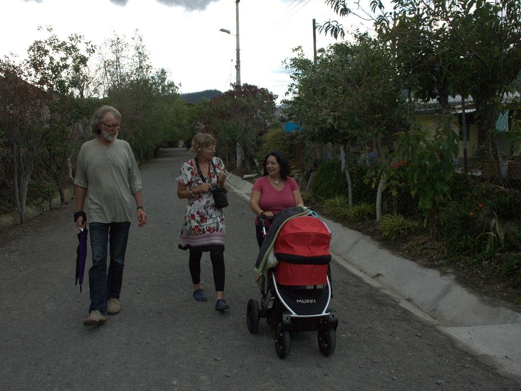 54 rondje park in Quito