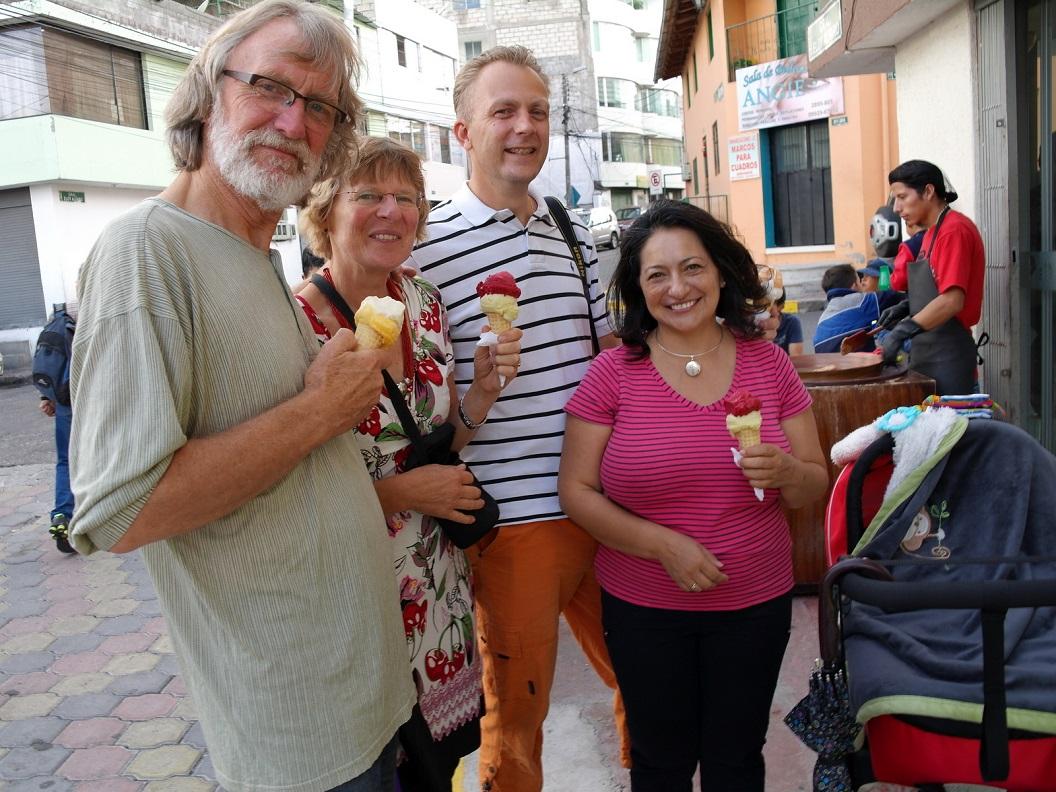 55 heerlijke vers gedraaide vruchten ijsjes van Helados de Paila