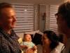 50 prachtig, Leen en Jimena blij en gelukkig en samen vol trots met zoontje Dante