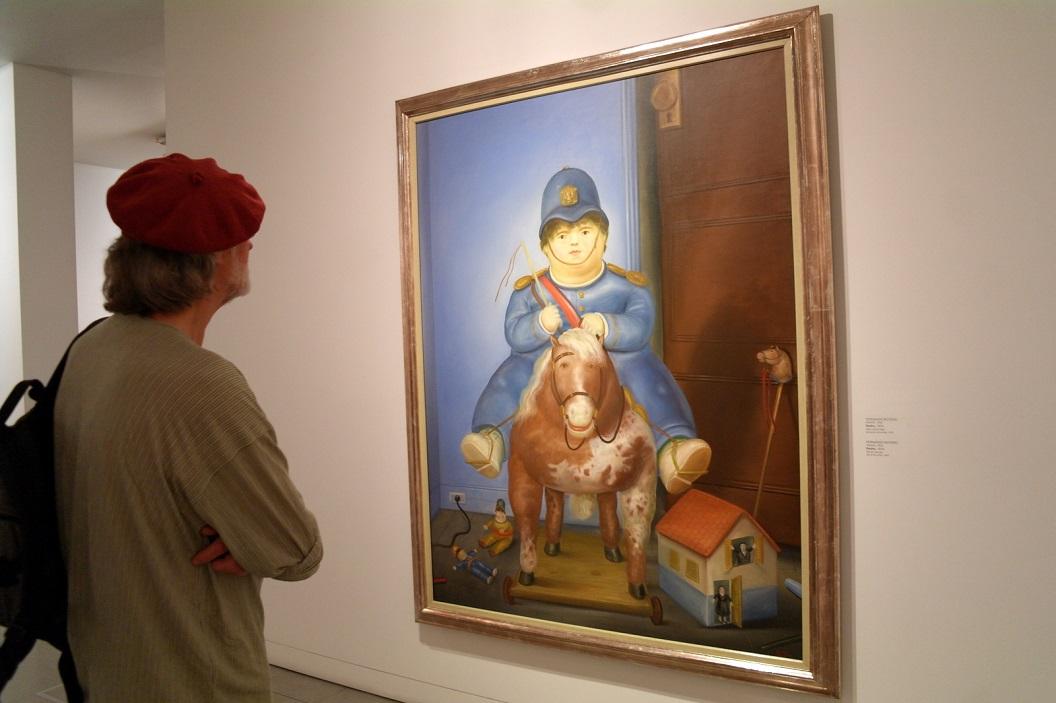 29 Pedro (1974) Oil on Canvas, Fernando Botero (Medellin 1932)