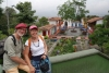 08 zicht op Pueblito Paisa, soort openluchtmuseum van een stadcentrum van het begin van de twintigste eeuw, gebouwd één van de belangrijkste en beroemdste heuvels Medellin, Cerro Nutibara