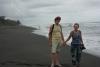 42 laatste wandeling over dit strand langs de Caribian Ocean en veel te overdenken SAM_5300