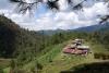 24 zicht over een vallei bij Quezaltenango - Xela , een Maya stadje in Guatamala, tijdens een wandeling in vogelrijk gebied SAM_5278