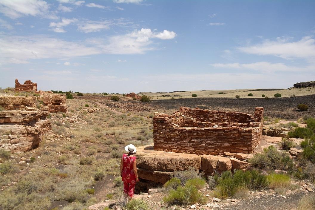 10 Lomaki Pueblo, overblijfselen van ca 800 jaar geleden SAM_5991