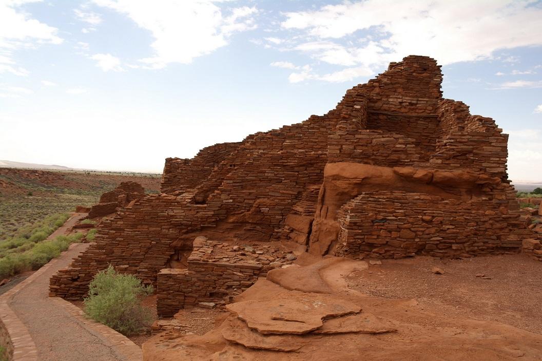 18 800 jaar oude muren, eens een thuis voor honderden indiaanse gezinnen SAM_6091