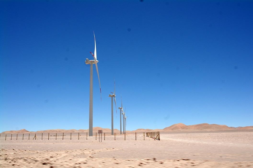 01 windmolenpark, op weg naar San Pedro de Atacama, bij La Serena - Enel-Greenpower - Talinay Oriente