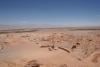 04 Cordillera de la sal - Desierto - y Arquelogia - Het zoutgebergte aan weerszijden van de weg - een schitterend landschap in de droogste woestijn ter Wereld