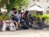08 Op de Plaza een gezellige en enigszins hippieachtige sfeer