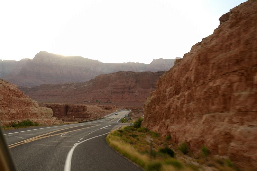 02 Rd 89A op weg naar Navajo BridgeSAM_6179