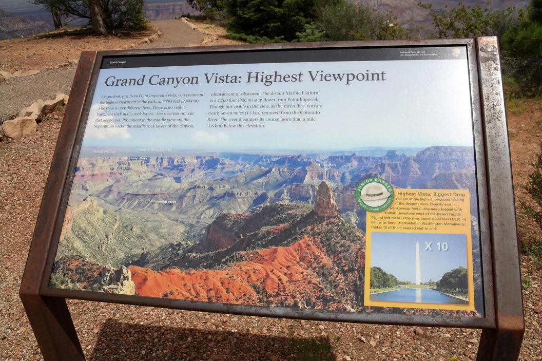 31 Grand Canyon Vista - Highest Viewpoint SAM_6364