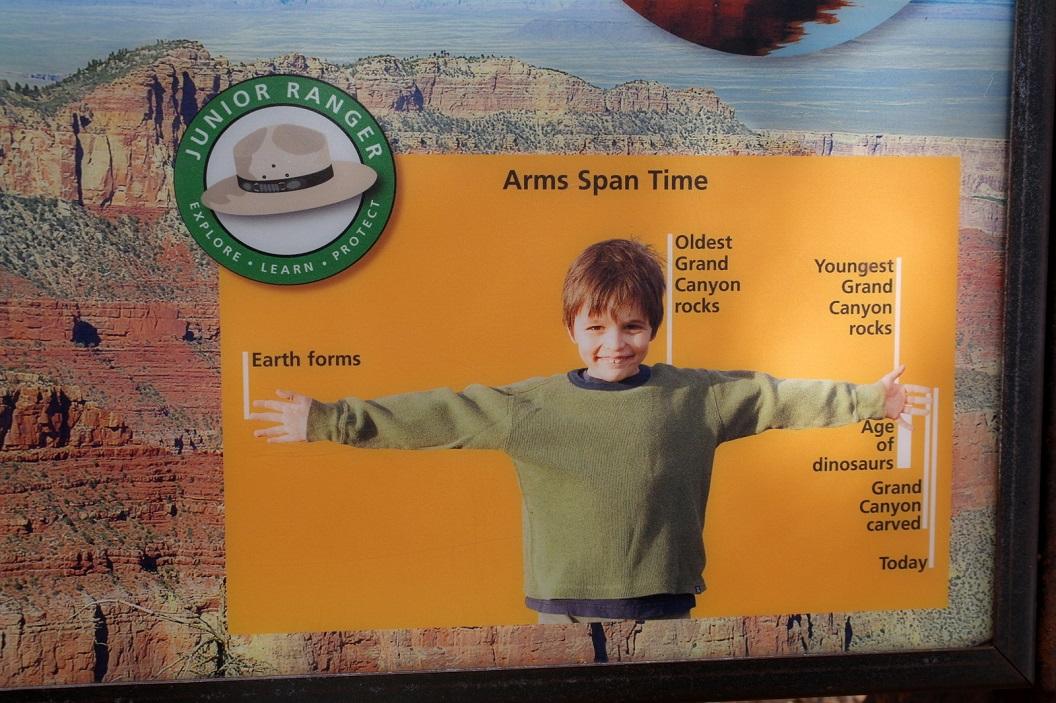 34 tijdlijn en armlengte van de jonge bezoeker Grand Canyon SAM_6379