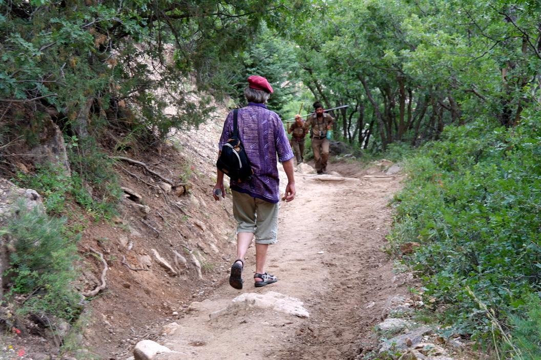 45 wandeling - Trail Coconino overlook SAM_6424