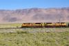 15 HWY 80 - spoorlijn m.n. voor goederenvervoer door Nevada Desert SAM_7442
