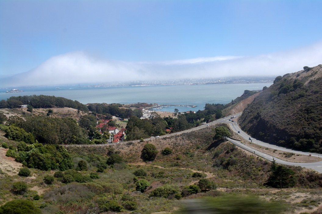 01 highway 1 prachtige route langs de kust route vanaf San Francisco richting Point Arena SAM_8015