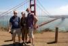 10 samen met Jan Loman op deze unieke plek - uitzicht op de Golden Gate Bridge SAM_7662