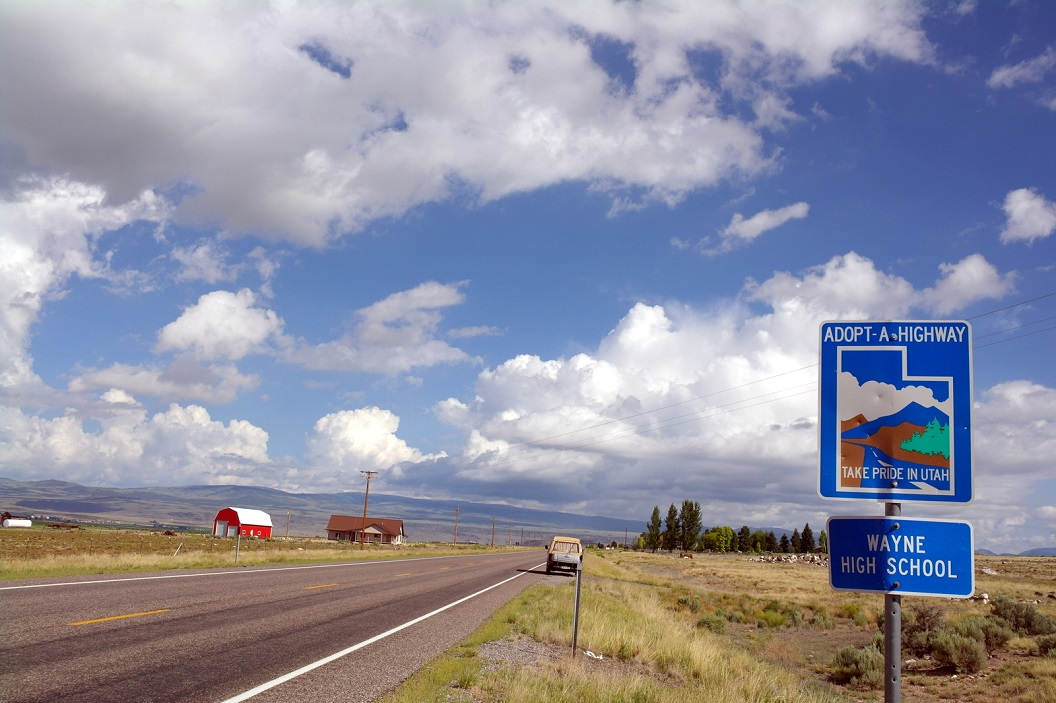 03 ... Adopt - A - Highway ... Route 15 - op weg naar Salt lake City SAM_7178