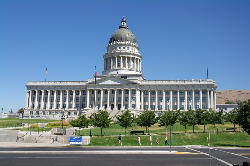 11 Utah State Capitol - provincie huis van Utah SAM_7262