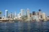 08 de mooie sky line van Seattle gezien vanaf het water SAM_8355