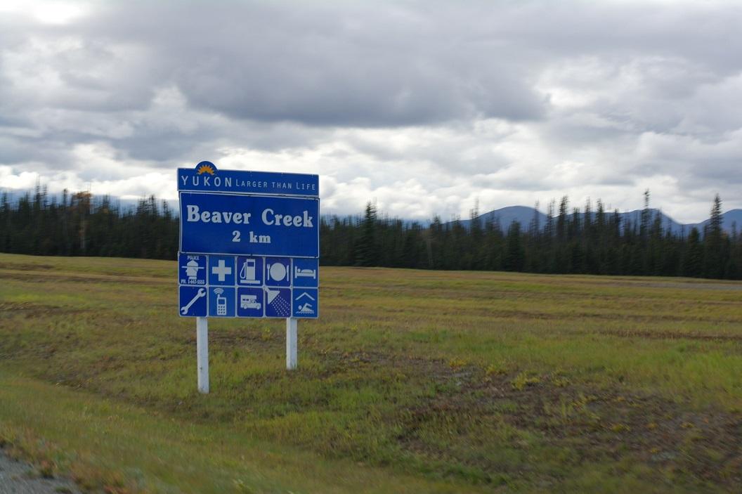 07 toch nog een stukje door Yukon - Canada voor we weer in Alaska zijn op weg naar Haines SAM_1417