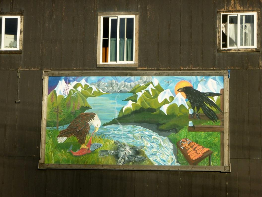 16 muurschildering in Haines P1030617