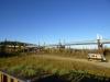 14 78.000 pijlers met gekoelde sokkels werden in de permafrost verankerd om de leiding bovengronds te torsen P1030156