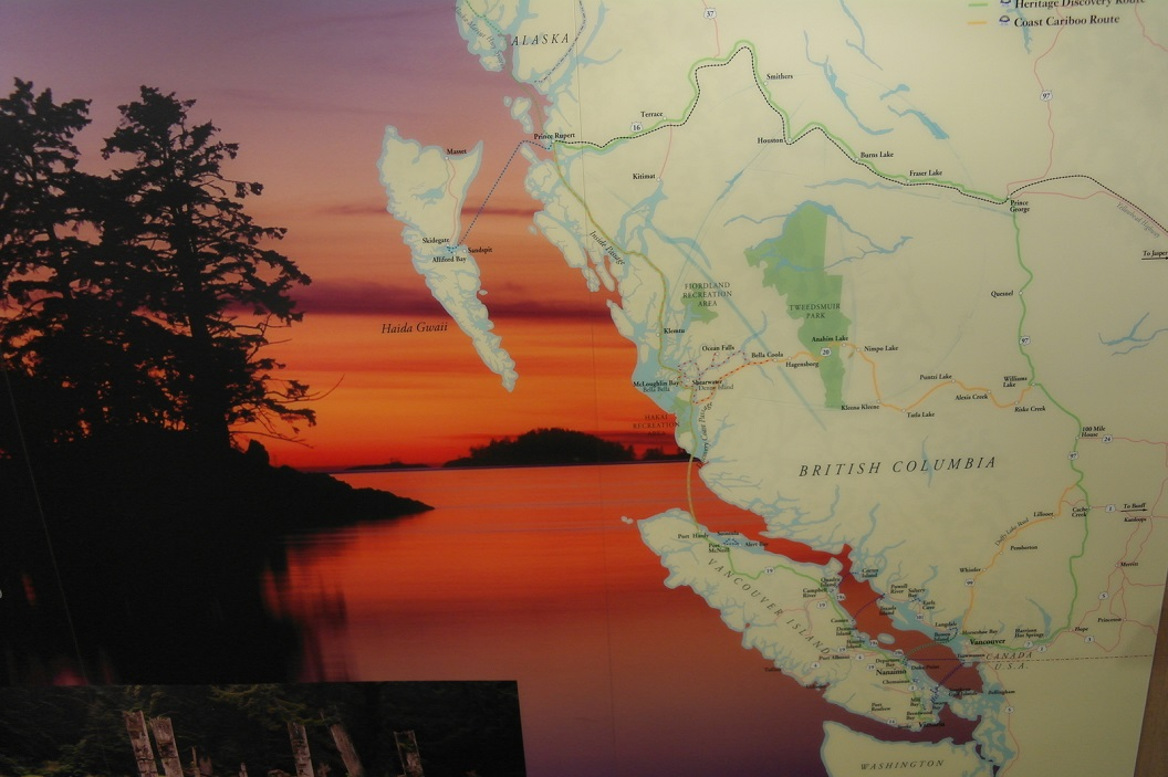 06 route vanuit Vancouver Island - Port Hardy - naar Prince Rupert - vaste land Canada - British Columbia SAM_0151