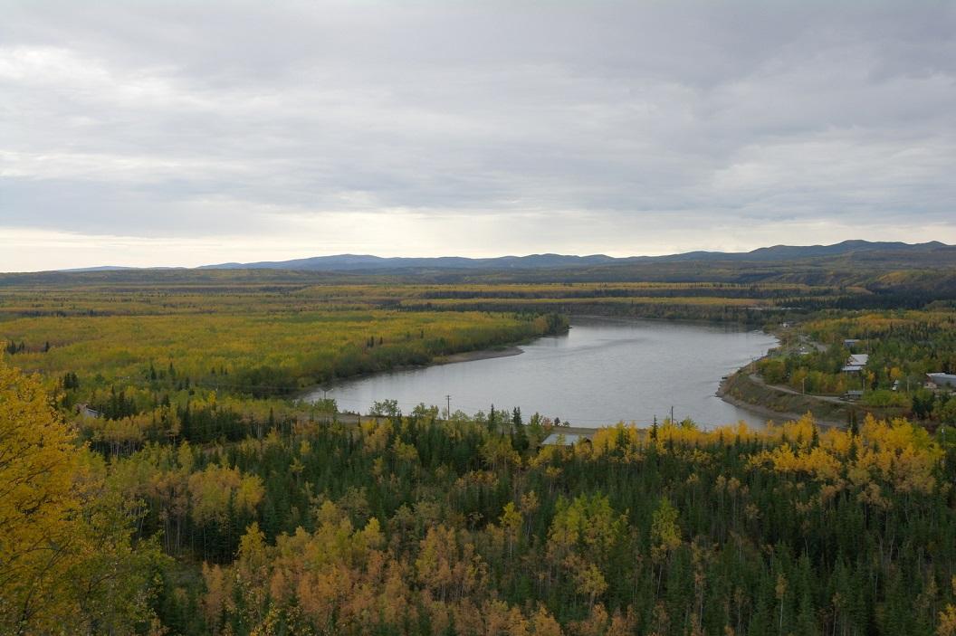 36 The Klondike Highway - een prachtige route naar Dawson City - route die vanaf de 15e september tijdens de winter is afgesloten ( is over 10 dagen!) SAM_0856