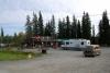 33 na overnachting op de Coalmine Campground van Carmacks verder via de Klondike Highway naar Dawson City SAM_0821