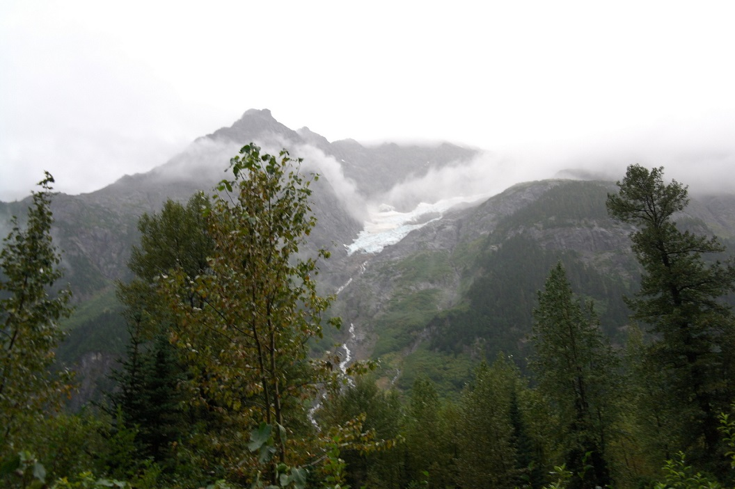 08 prachtige route - Glacier Highway SAM_0455