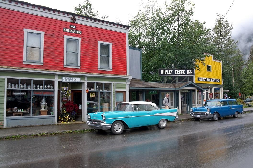 13 straatbeeld in Stewart - British Columbia CA SAM_0472