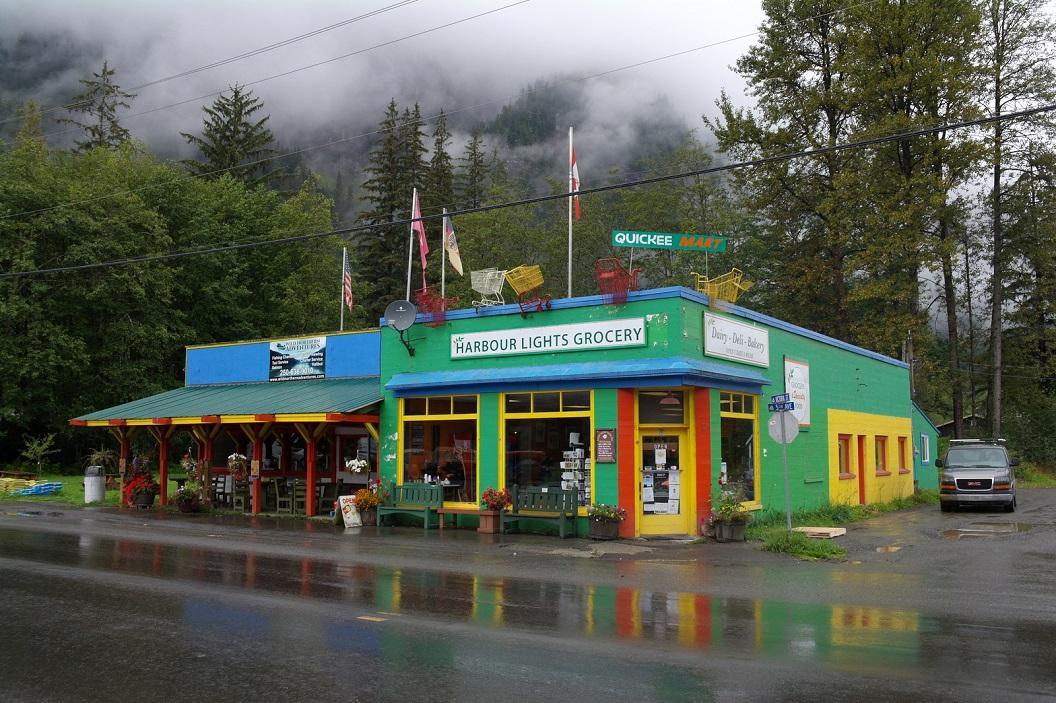 14 straatbeeld in Stewart - British Columbia SAM_0474