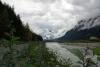 30 op weg naar Salmon Glasier aan het einde van de Glacier Highway SAM_0534