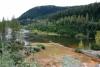 31 op weg naar Salmon Glasier aan het einde van de Glacier Highway SAM_0541